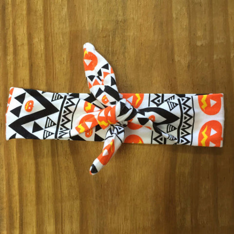 Aztec Pumpkin Headband-Headband-CKCC-Cute Kids Clothing