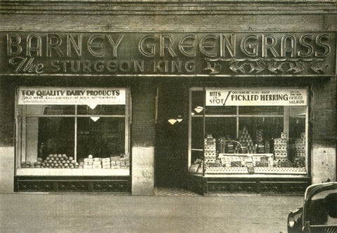 Barney Greengrass storefront from the 30's