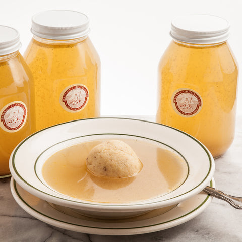 Matzo Ball Soup (per quart)