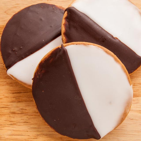 Large Black & White Cookies