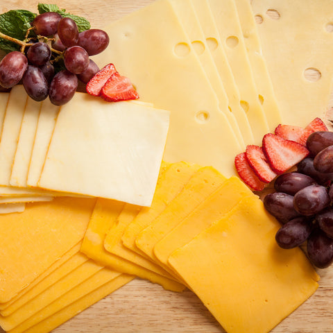 Sliced Cheeses (1 lb pkg)