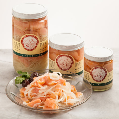 Pickled Lox in Wine