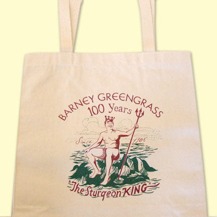 Barney Greengrass Tote Bag