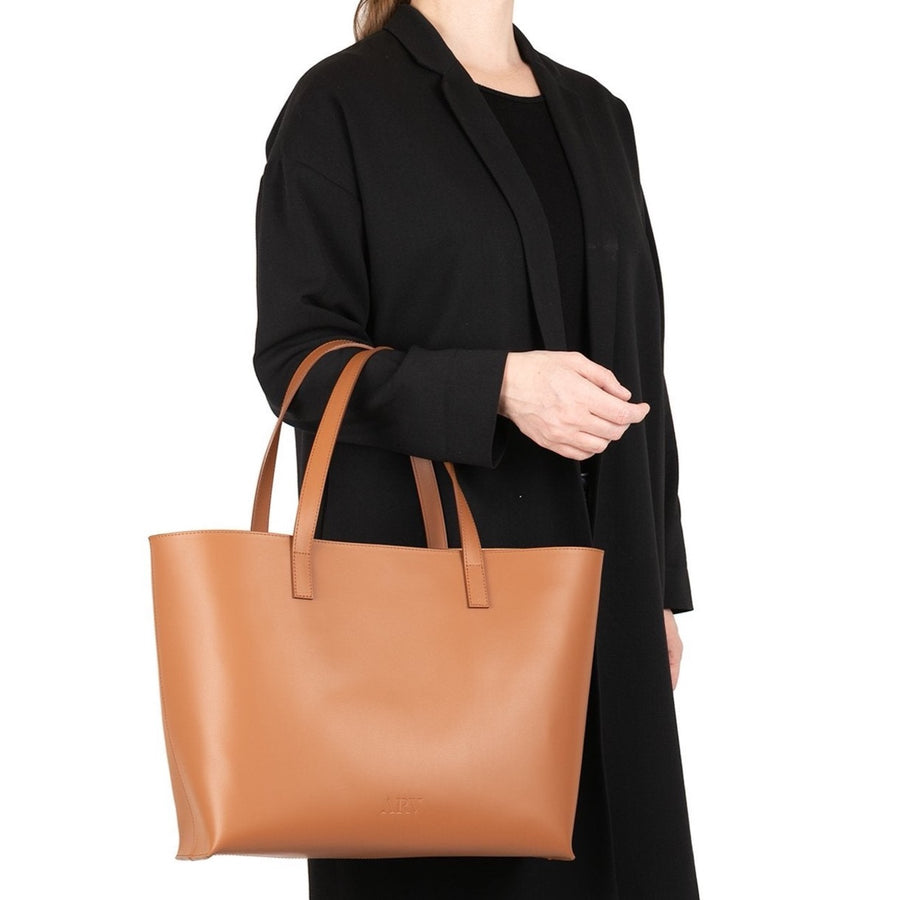 Ann Tote Bag - Saddle ARV