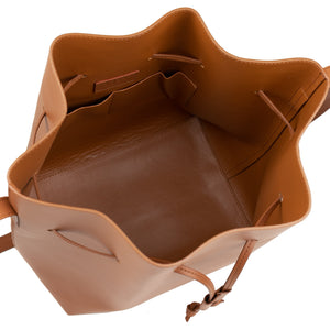 Viola Bucket Bag - Saddle ARV