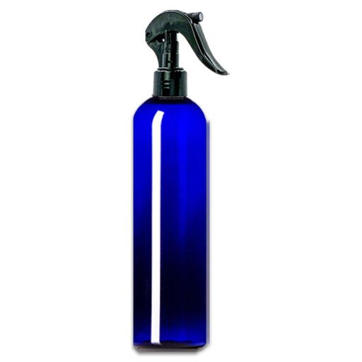 16 oz Blue Plastic Bottle w/ Trigger Sprayer - Your Oil Tools
