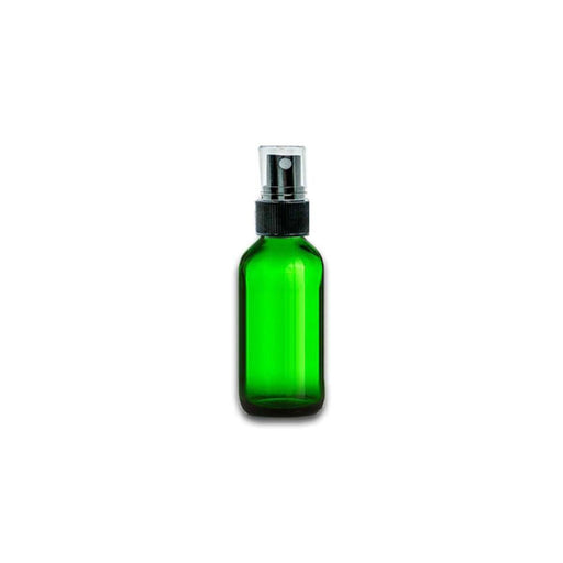 1 oz Green Glass Bottle w/ Fine Mist Top - Your Oil Tools