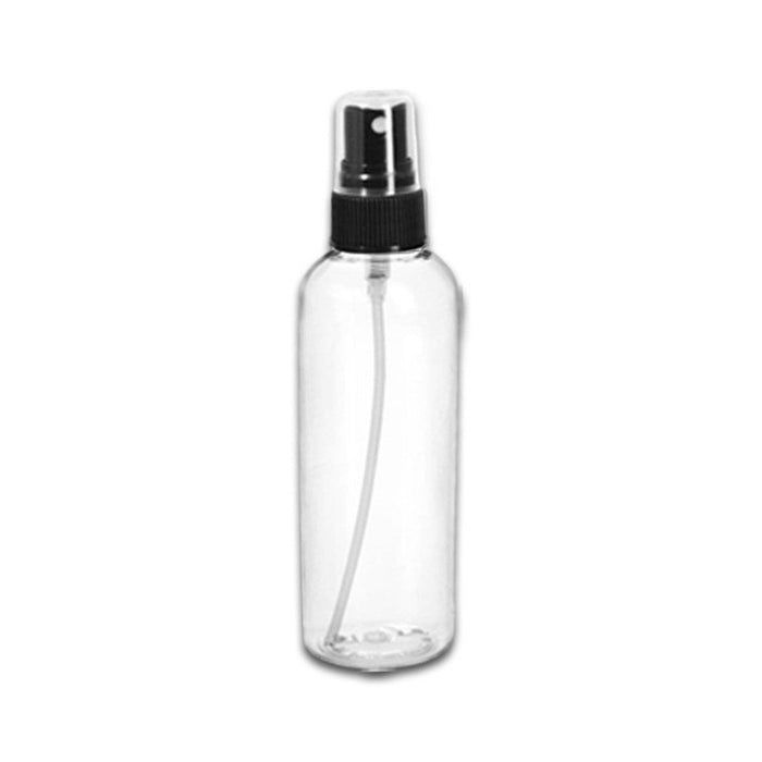 1 oz Clear Plastic Bottle w/ Fine Mist Top - Your Oil Tools