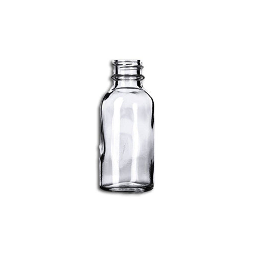 1 oz Clear Glass Bottle (Caps NOT Included) - Your Oil Tools