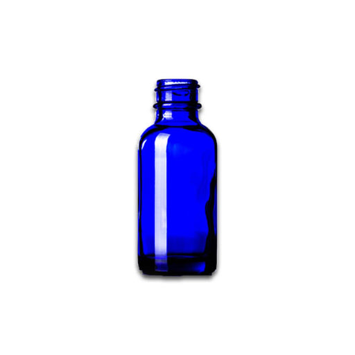 1 oz Blue Glass Bottle (Caps NOT Included) - Your Oil Tools