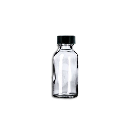 1 oz Clear Glass Bottle w/ Storage Cap - Your Oil Tools