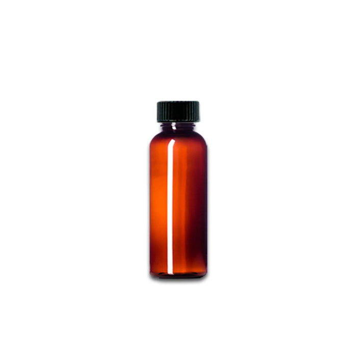 2 oz Amber Plastic Bottle w/ Storage Cap - Your Oil Tools