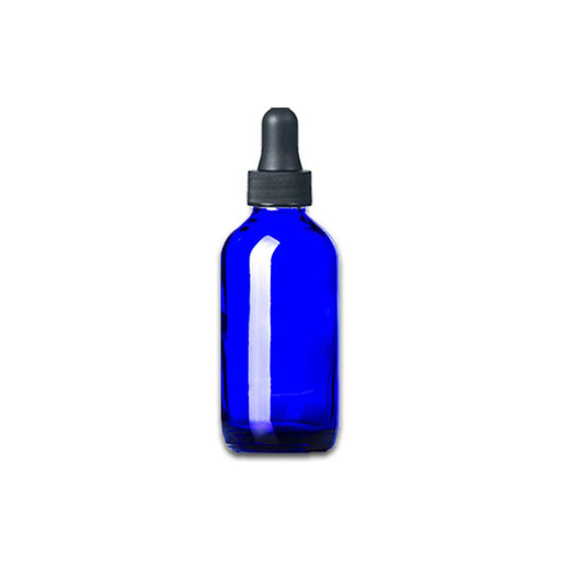 2 oz Blue Glass Bottle w/ Dropper - Your Oil Tools