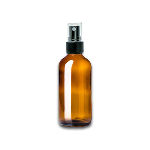 2 oz Amber Glass Bottle w/ Fine Mist Top - Your Oil Tools