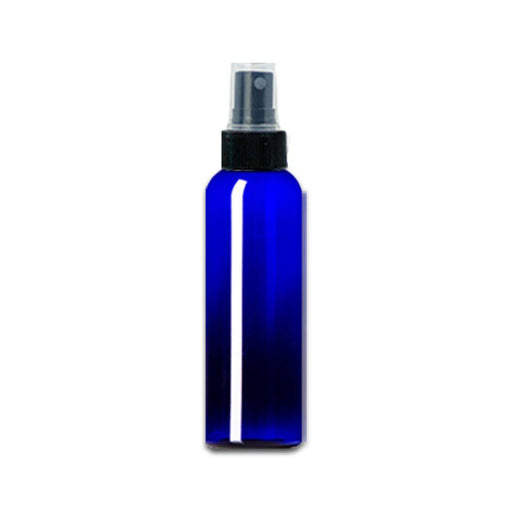 2 oz Blue Plastic Bottle w/ Fine Mist Top - Your Oil Tools
