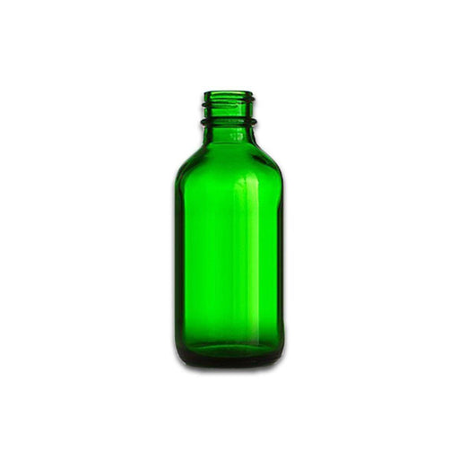 2 oz Green Glass Bottle (Caps NOT Included) - Your Oil Tools