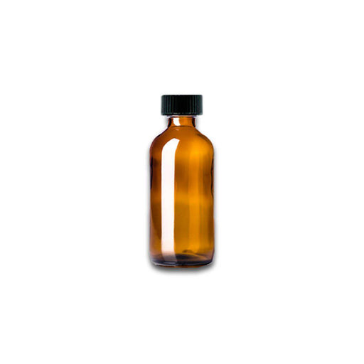2 oz Amber Glass Bottle w/ Storage Cap - Your Oil Tools