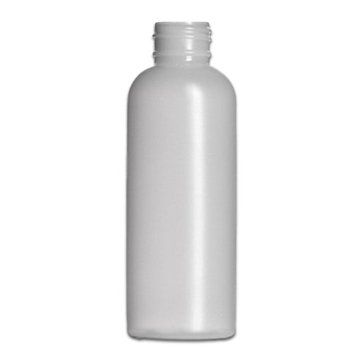 4 oz Natural-Colored HDPE imperial round bottle (Caps NOT Included) - Your Oil Tools