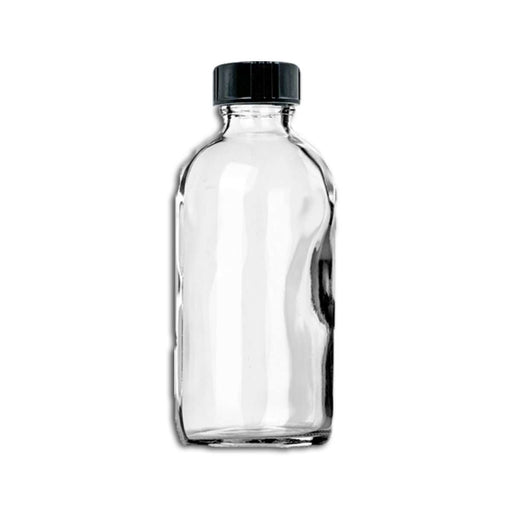 4 oz Clear Glass Bottle w/ Storage Cap - Your Oil Tools