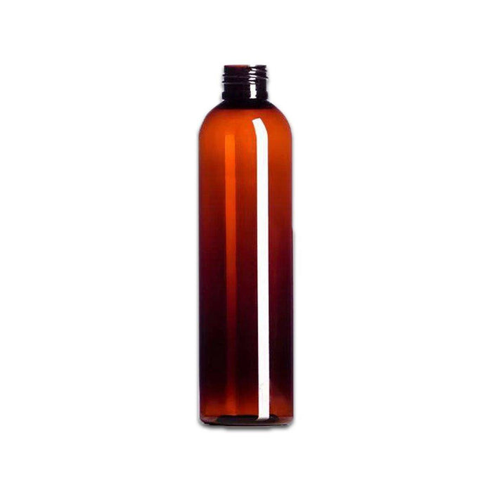 8 oz Amber Plastic PET Bottle (Caps NOT Included) - Your Oil Tools