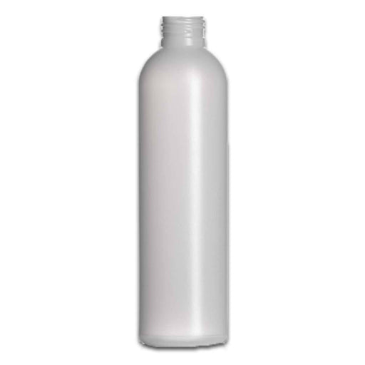 8 oz Natural HDPE Plastic Bottle (caps NOT included) - Your Oil Tools