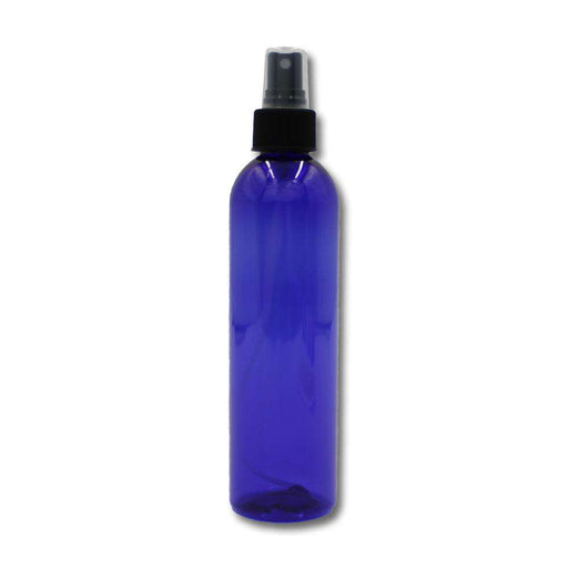 8 oz Blue Plastic Bottle w/ Fine Mist Top - Your Oil Tools