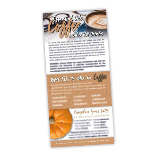 Coffee Education Cards - Your Oil Tools