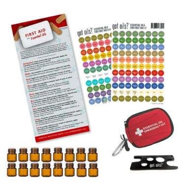 Emergency Essential Oil First Aid Kit