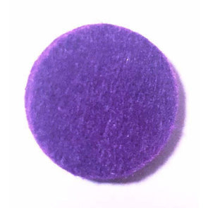 Round Replacement Pads Purple (Pack of 10) - roller bottles