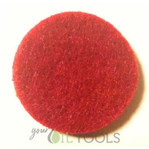 Round Replacement Pads Red (Pack of 10) - roller bottles