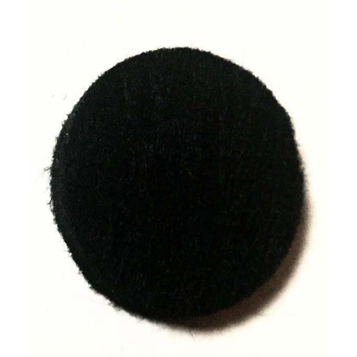 Round Replacement Pads Black (Pack of 10) - roller bottles