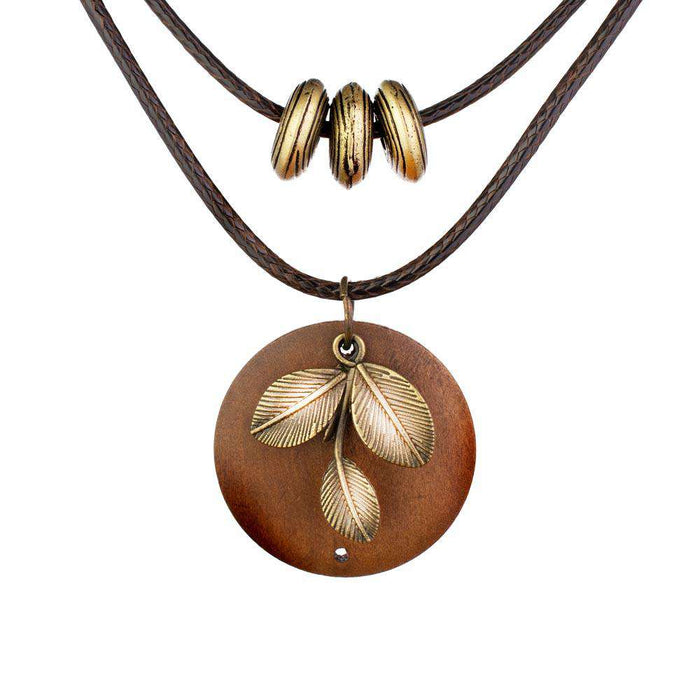 The Leaf Aroma Necklace - Your Oil Tools