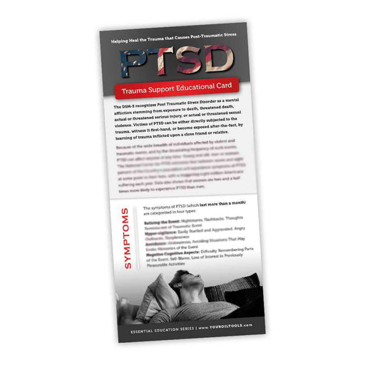 PTSD Education Card - Your Oil Tools