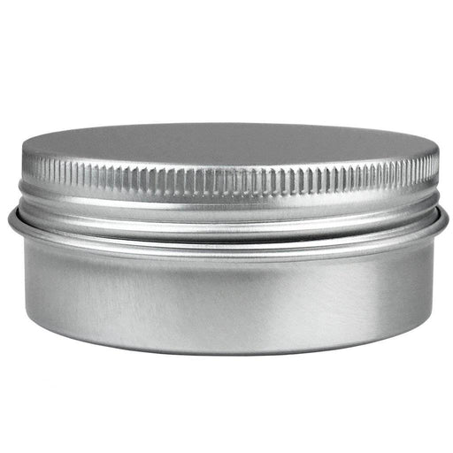 60 ml Aluminum Tin Jar w/ Screw Top Lid - Your Oil Tools