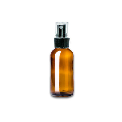 1 oz Amber Glass Bottle w/ Fine Mist Top - Your Oil Tools