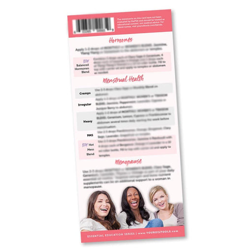 Women's Health Education Cards - Your Oil Tools