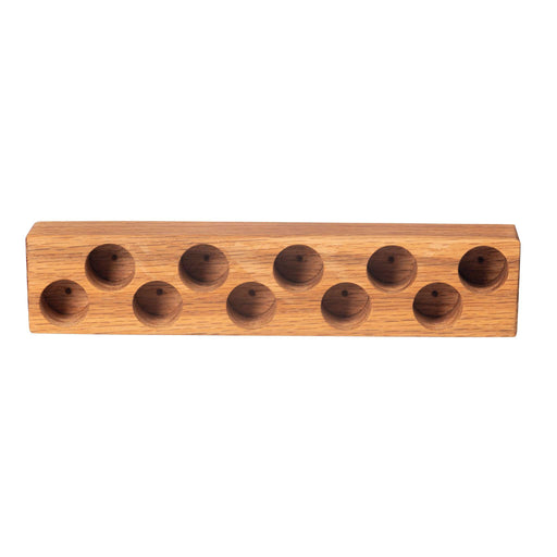 Wooden Roller Bottle Holder (OAK) - Your Oil Tools