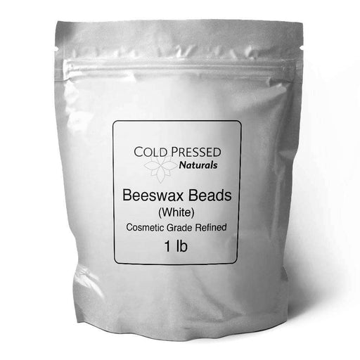 1lb Organic White Beeswax Beads - Your Oil Tools