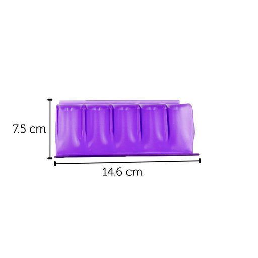 Acrylic Essential Oil Bottle Display (Purple) - Your Oil Tools