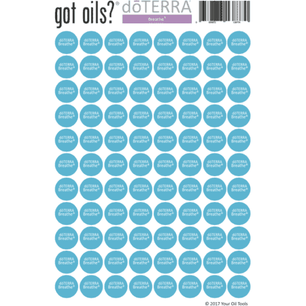 doTERRA® Lid Stickers (Breathe)