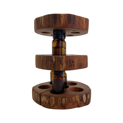3-Piece Stack-able Handcrafted Wooden Display Rack - Your Oil Tools
