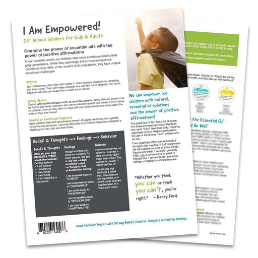 I Am Empowered Tear Pad (Digital Download) - Your Oil Tools