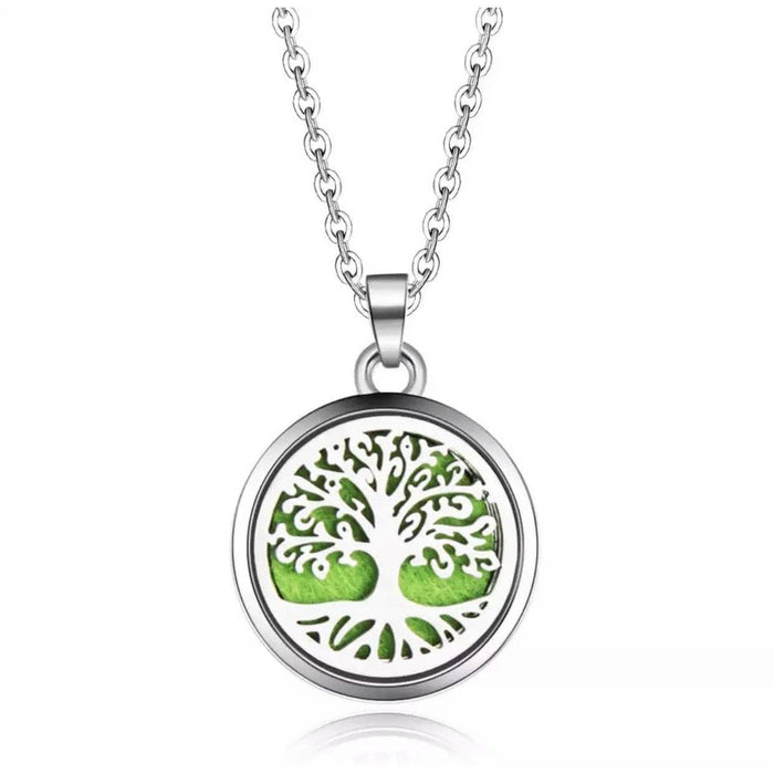 Aromatherapy Diffusing Necklace (Tree of Life) - Your Oil Tools