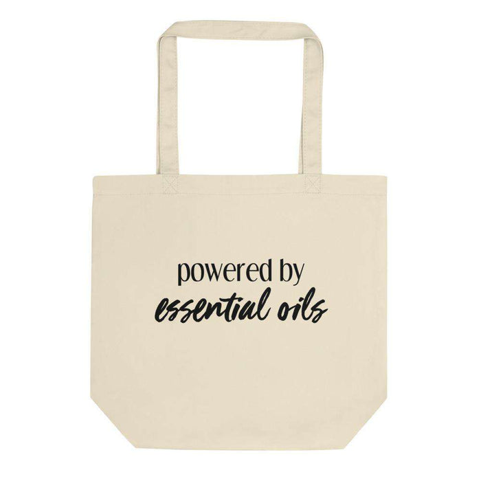 Powered by Essential Oils Eco Tote Bag - Your Oil Tools