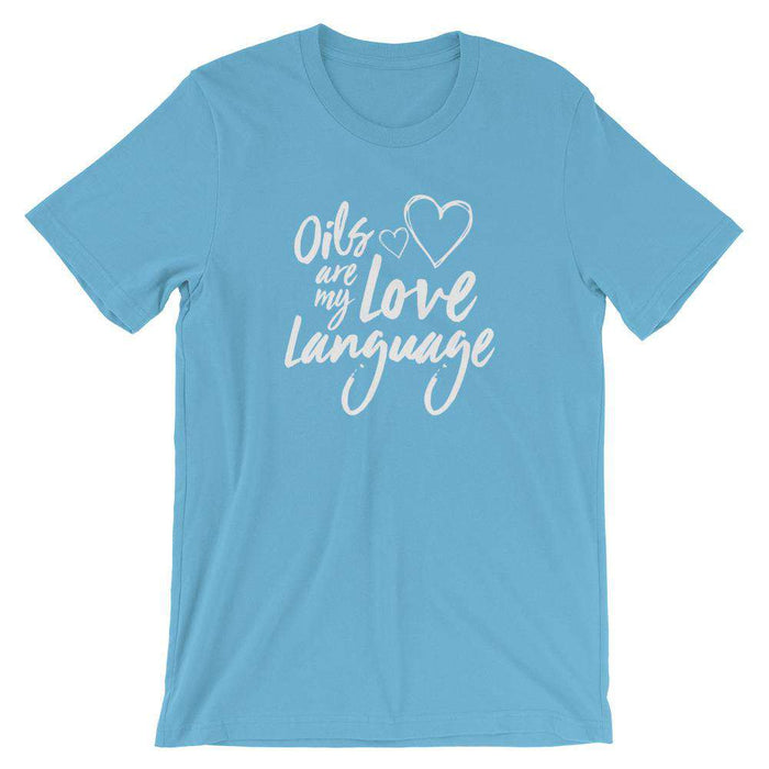 Love Language (Dark) Short-Sleeve Unisex T-Shirt - Your Oil Tools