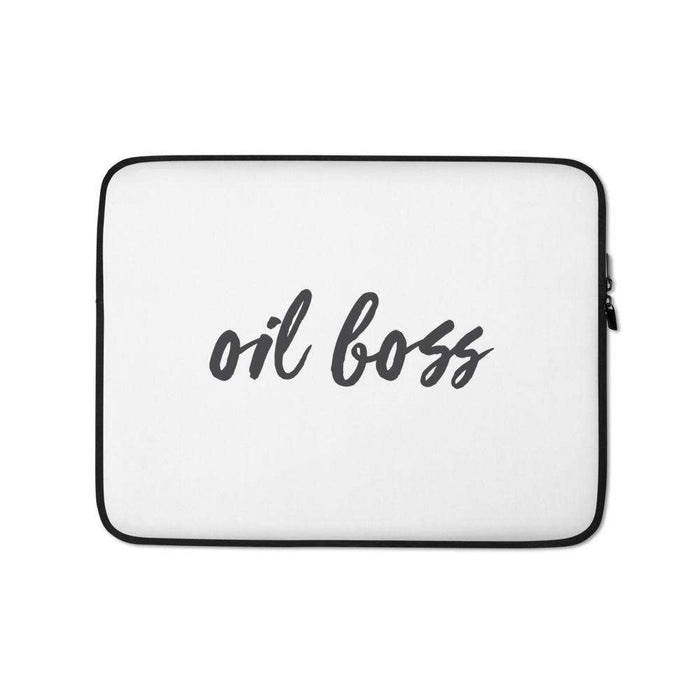 """Oil Boss"" Laptop Sleeve - Your Oil Tools"
