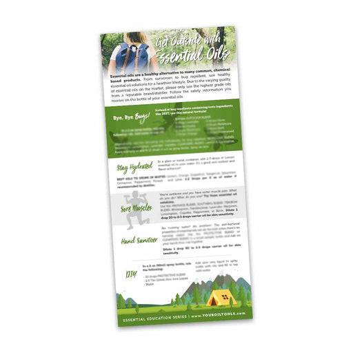 Get Outside Education Cards - Your Oil Tools