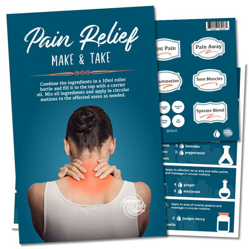 Make & Take: Pain Relief - Your Oil Tools
