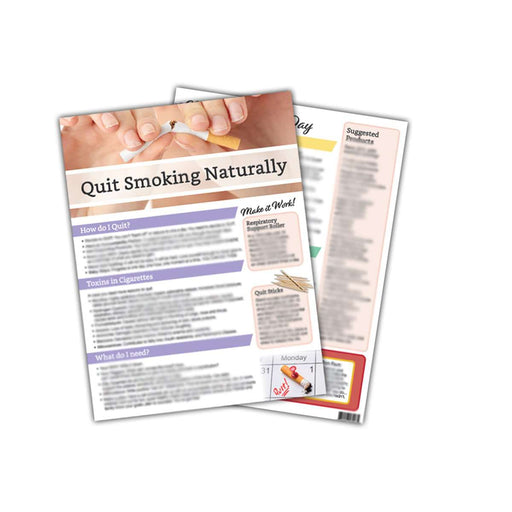 Quit Smoking Naturally Tear Pad - Your Oil Tools