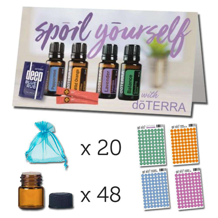 Spoil Yourself with doTERRA Sampling Kit - Your Oil Tools